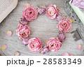 リース ローズ 薔薇の写真 28583349