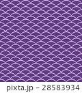 イラスト:風呂敷「扇-紫」 28583934