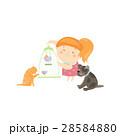 女の子 女子 少女のイラスト 28584880