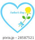 父の日 薔薇 ハートのイラスト 28587521