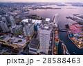 【神奈川県】横浜・みなとみらいの夕景 28588463