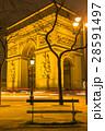 フランス パリのエトワール凱旋門 28591497