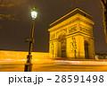 フランス パリのエトワール凱旋門 28591498
