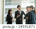 ビジネスマン ミーティング ビジネスウーマンの写真 28591871