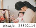 赤ちゃん 孫 初節句の写真 28592114