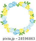 ローズ 花 薔薇のイラスト 28596863