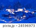 富山_五箇山ライトアップ 28596973