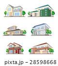 家のイラスト / 立体図形 28598668