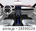 ナビゲーション 運転席 カーナビのイラスト 28599228