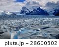 パタゴニア 氷河 世界遺産の写真 28600302