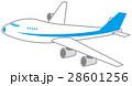ジェット機 飛行機 旅客機のイラスト 28601256