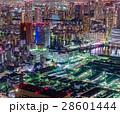 夜景 ビル 都会の写真 28601444