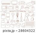 新生活 家電 家具のイラスト 28604322