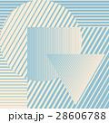 Blue color minimalistic design with geometric 28606788