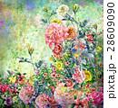フラワー 花 フローラルのイラスト 28609090