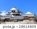 松山城 大天守 天守閣の写真 28614809