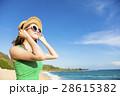 ビーチ 浜辺 女の写真 28615382