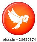 鳩 ハト レターのイラスト 28620374