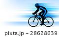 ロードバイク ロードレーサー 男性のイラスト 28628639