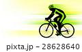 ロードバイク ロードレーサー 男性のイラスト 28628640