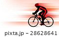 ロードバイク ロードレーサー 男性のイラスト 28628641