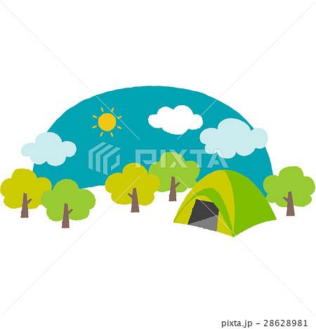 キャンプ場 28628981