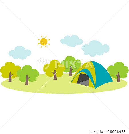 キャンプ場 28628983