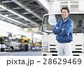ドライバー 男性 運送業者の写真 28629469