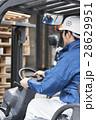 運送業 フォークリフト 男性の写真 28629951