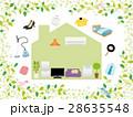 新生活 家電 家具のイラスト 28635548