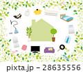 新生活 家電 家具のイラスト 28635556