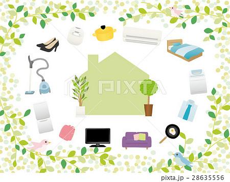 新生活 家電と家具のアイコン 28635556