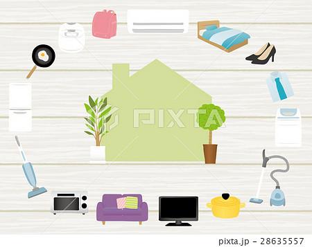 新生活 家電と家具のアイコン 28635557