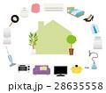 新生活 家電 家具のイラスト 28635558