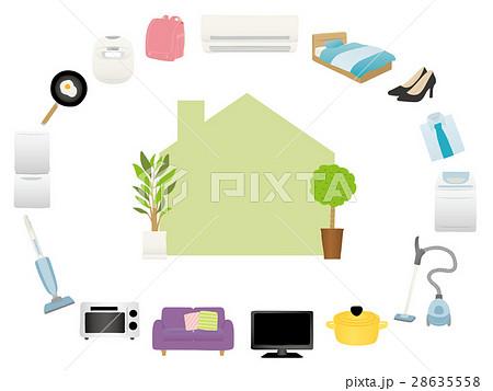 新生活 家電と家具のアイコン 28635558