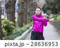 女性 運動 ランナーの写真 28636953
