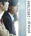 女子高生 高校生 カップルの写真 28637889