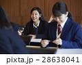 女子高生 受験生 受験の写真 28638041