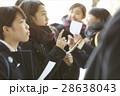 女子 高校生 合格発表の写真 28638043