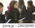 女子高生 合格発表 受験生の写真 28638090