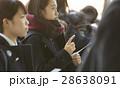 女子高生 合格発表 受験生の写真 28638091