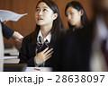 女子 受験生 受験の写真 28638097