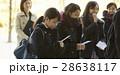 女子高生 合格発表 受験生の写真 28638117