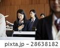 受験会場 試験を受ける学生たち 28638182