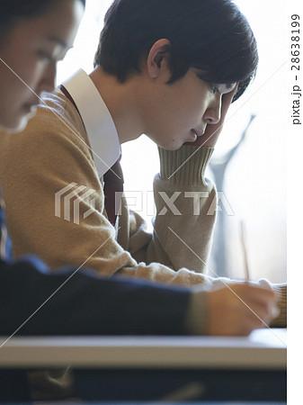 受験会場 試験を受ける学生たち 28638199