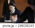 受験会場 試験を受ける学生たち 28638243