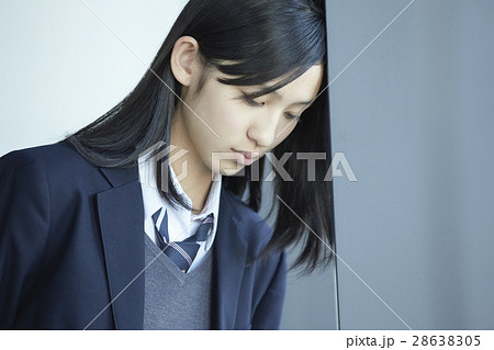 学生 女子 制服 ポートレート 28638305