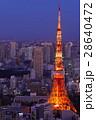 夜景 東京 都市の写真 28640472