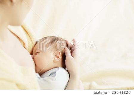 Mother breastfeeding her baby 28641826