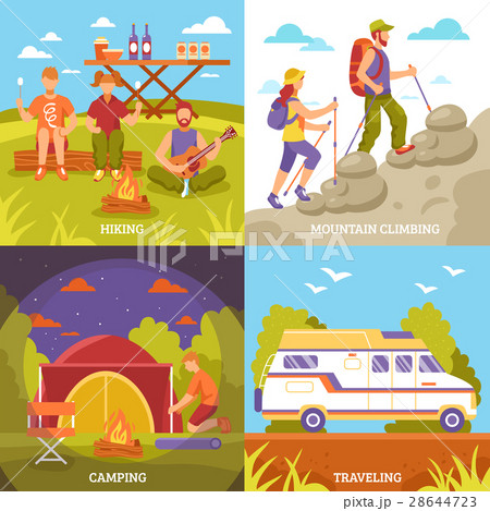 Outdoor Recreation Compositions Set 28644723